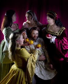 Henry and the ladies of the court