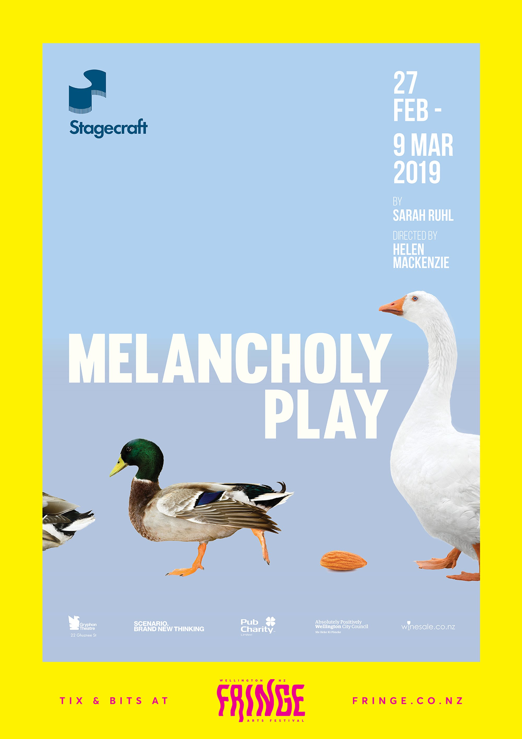 Image of poster for Melancholy Play